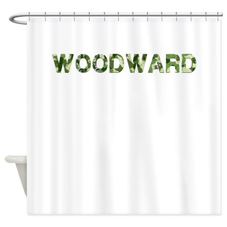Woodward, Vintage Camo, Shower Curtain