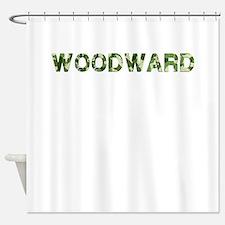 Woodward, Vintage Camo, Shower Curtain