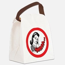 Shhh...Librarian Canvas Lunch Bag