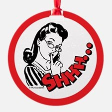 Shhh...Librarian Ornament