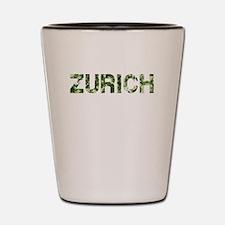 Zurich, Vintage Camo, Shot Glass