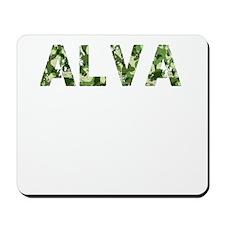 Alva, Vintage Camo, Mousepad