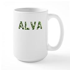 Alva, Vintage Camo, Mug