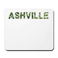Ashville, Vintage Camo, Mousepad