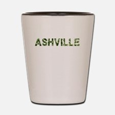 Ashville, Vintage Camo, Shot Glass