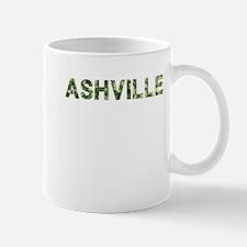Ashville, Vintage Camo, Mug