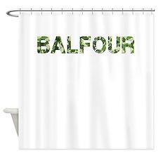 Balfour, Vintage Camo, Shower Curtain