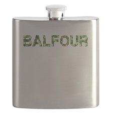 Balfour, Vintage Camo, Flask