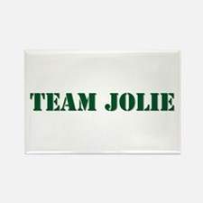 Team Jolie Rectangle Magnet
