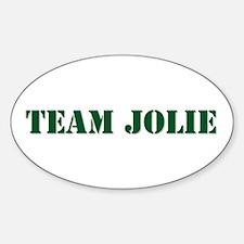 Team Jolie Oval Decal