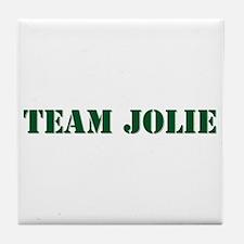 Team Jolie Tile Coaster