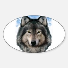 Wolf Head 2 Decal