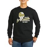 Anesthesia crna Long Sleeve T-shirts (Dark)
