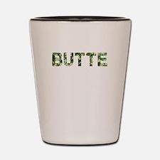 Butte, Vintage Camo, Shot Glass