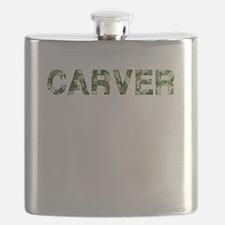 Carver, Vintage Camo, Flask
