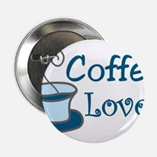 """Coffee Lover 2.25"""" Button"""