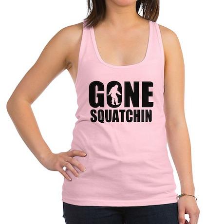 Gone sqautchin 2 Racerback Tank Top