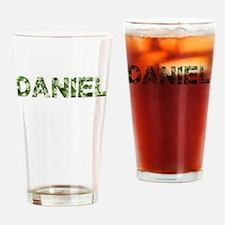 Daniel, Vintage Camo, Drinking Glass