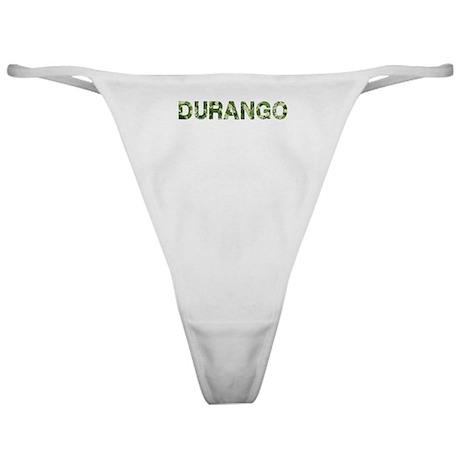Durango, Vintage Camo, Classic Thong