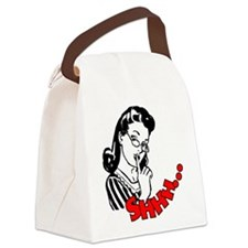 Shhh...Librarian Canvas Lunch Bag