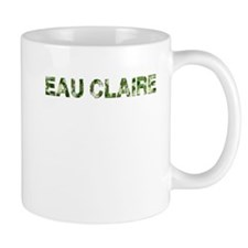 Eau Claire, Vintage Camo, Mug