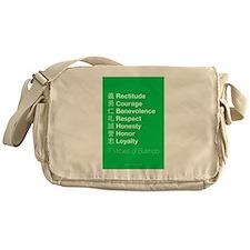 The 7 Virtues of Bushido Messenger Bag