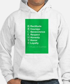 The 7 Virtues of Bushido Hoodie