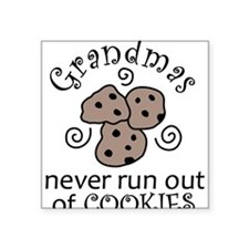 "Cookies Square Sticker 3"" x 3"""