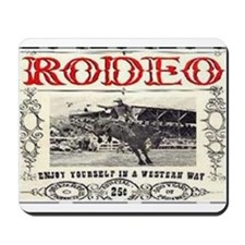Vintage Rodeo Mousepad