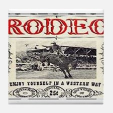 Vintage Rodeo Tile Coaster