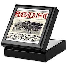 Vintage Rodeo Keepsake Box