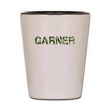 Garner, Vintage Camo, Shot Glass