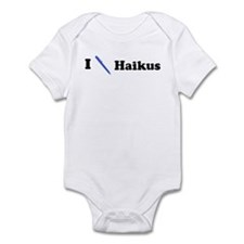 I Write Haikus Infant Bodysuit
