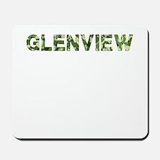 Glenview, Vintage Camo, Mousepad