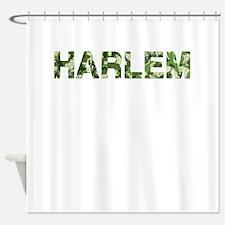 Harlem, Vintage Camo, Shower Curtain