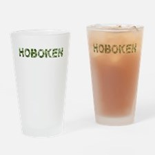 Hoboken, Vintage Camo, Drinking Glass