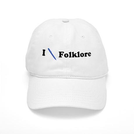 I Write Folklore Cap
