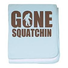 Gone sqautchin Br baby blanket