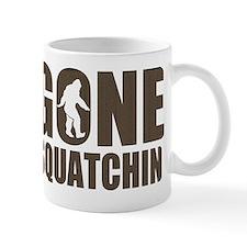 Gone sqautchin Br Mug