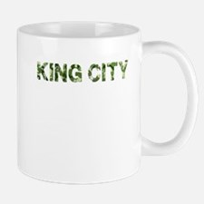 King City, Vintage Camo, Mug