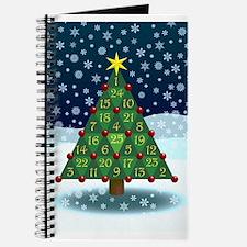 Advent Sum Christmas Tree Journal