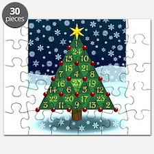 Advent Sum Christmas Tree Puzzle