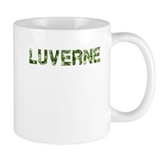 Luverne, Vintage Camo, Mug