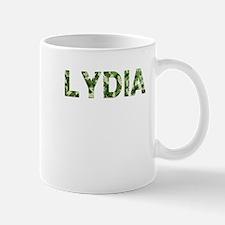 Lydia, Vintage Camo, Mug