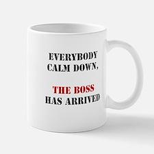 The Boss Arrival Mug