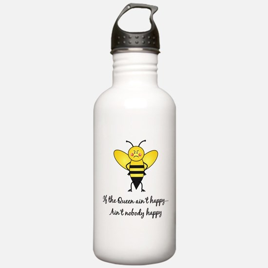 Cute Queen bitch Water Bottle