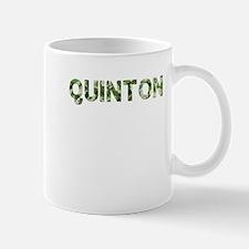 Quinton, Vintage Camo, Mug