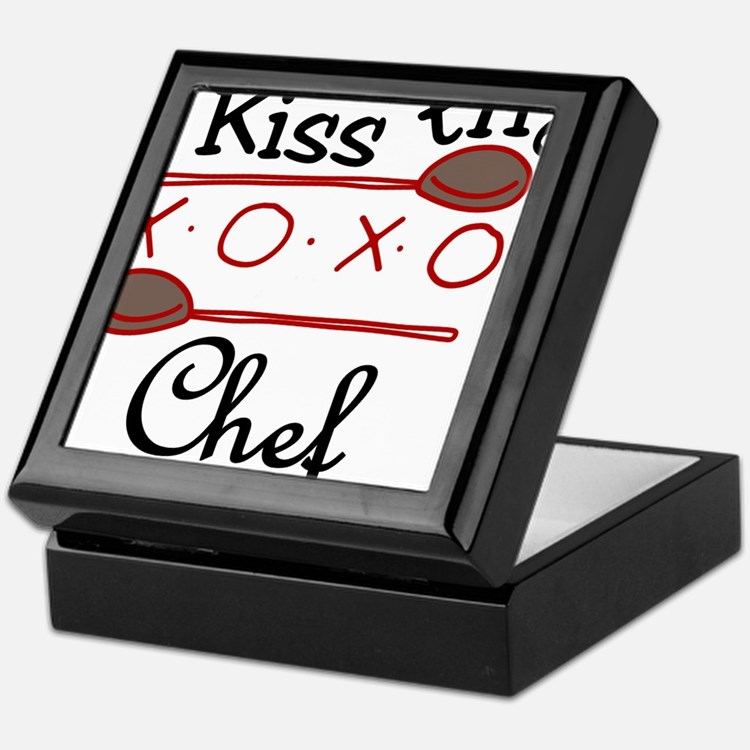 Kiss The Chef Keepsake Box