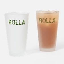 Rolla, Vintage Camo, Drinking Glass