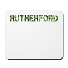 Rutherford, Vintage Camo, Mousepad